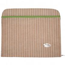 331ebeb907c3a Udyog s Jute Stripe Beige Color File Bag