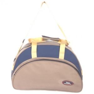Udyog Fabric Blue Color Oval Travel Bag (small) 403