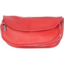 Udyog's Leatherlook Foam Red Color Ladies Hand Purse