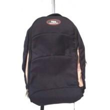 Udyog Black Nylon Super Laptop Trolley Backpack 551A