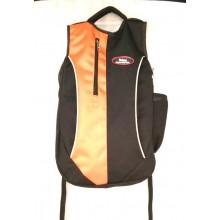 Udyog  Black & Orange  Backpack 597-1A
