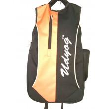 Udyog  Black & Orange  Backpack 597-1