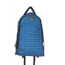 Udyog  Nylon Super Laptop Trolley Backpack Blue Cheek 551A